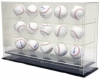15 Baseball MLB Ball Display Case Box Cabinent